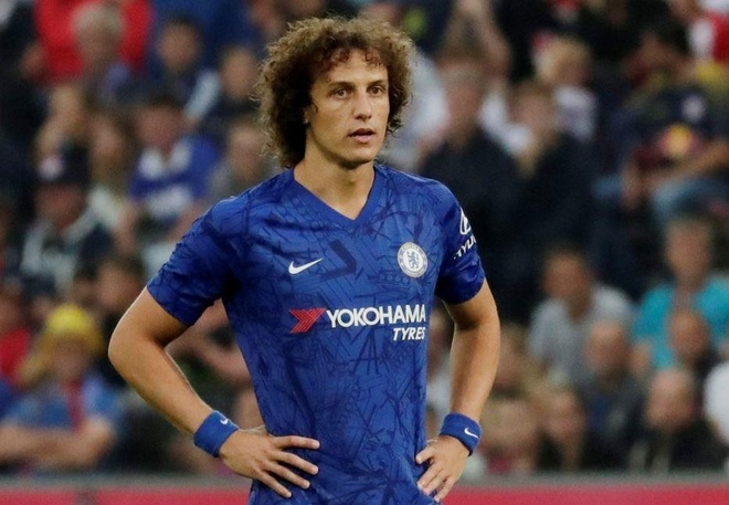 David Luiz bo tap, doi sang Arsenal hinh anh 1