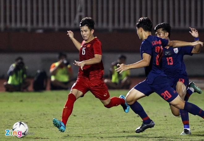 U18 Viet Nam 0-0 U18 Thai Lan: 'Tieu Cong Phuong' vao san hinh anh 4