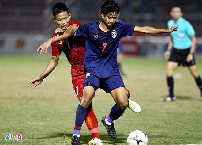 Hoa Thai Lan, U18 Viet Nam mat quyen tu quyet vao ban ket hinh anh 1