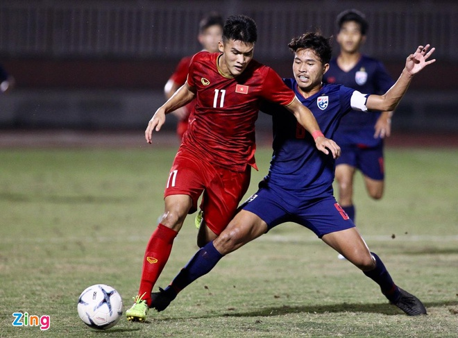 U18 Viet Nam 0-0 U18 Thai Lan: 'Tieu Cong Phuong' vao san hinh anh 2