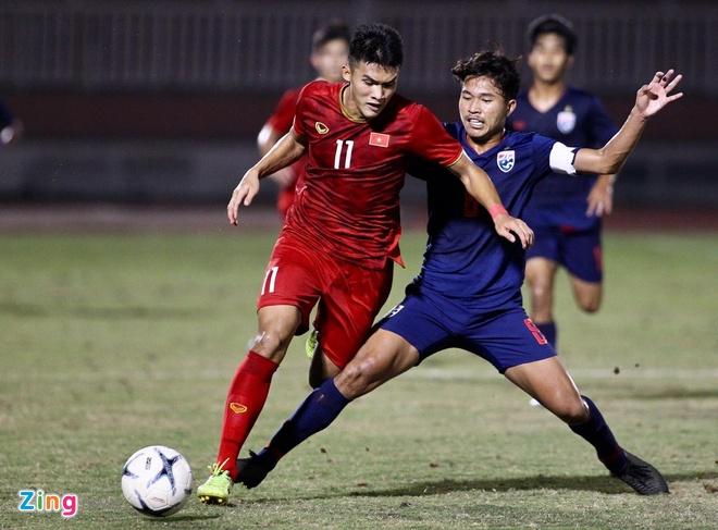 U18 Viet Nam 0-0 U18 Thai Lan: Y Eli Nie choi thieu chac chan hinh anh 1