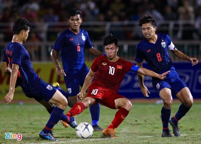 U18 Viet Nam 0-0 U18 Thai Lan: 'Tieu Cong Phuong' vao san hinh anh 1