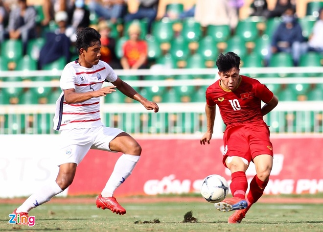 U18 Việt Nam 0-0 U18 Campuchia: Xuân Tạo bị từ chối bàn thắng