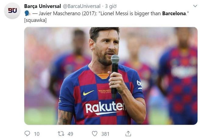 Thua Bilbao, CDV Barca thua nhan Messi lon hon CLB hinh anh 3