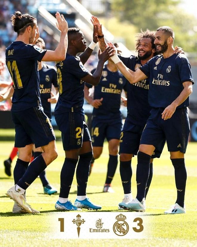 Gareth Bale toa sang, Real Madrid thang cach biet Celta Vigo hinh anh 39