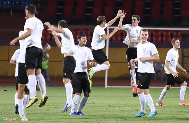 Quang Hai lap cu dup, CLB Ha Noi thang Altyn Asyr 3-2 tai AFC Cup hinh anh 4
