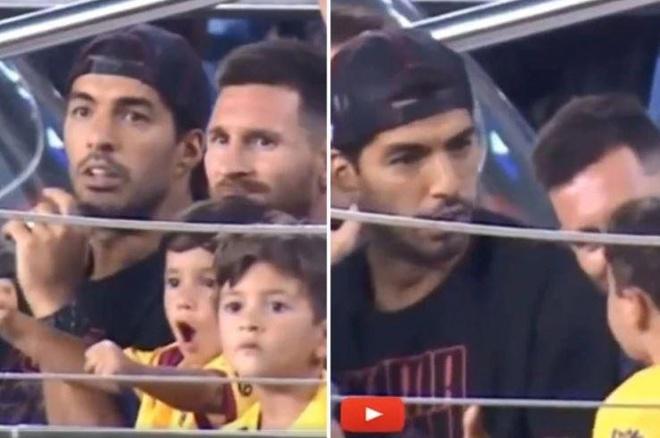 Messi ngo ngang vi con trai co vu Real Betis hinh anh 1