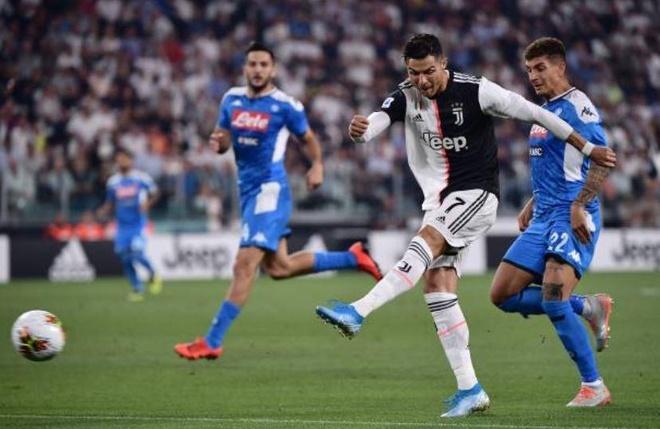 Ronaldo lap cong, Juventus ha Napoli o tran cau co 7 ban thang hinh anh 13
