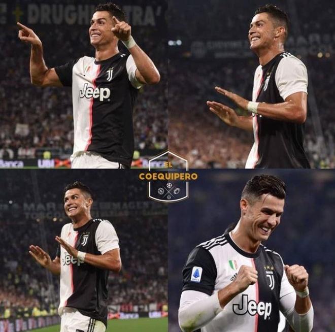 Ronaldo ra mat kieu an mung 'VAR' hinh anh 1