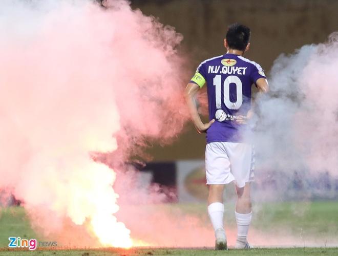 CLB Ha Noi 6-1 Nam Dinh: Van Quyet tham gia vao 5 ban thang hinh anh 13