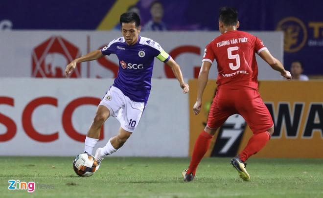 CLB Hà Nội 0-2 Viettel: Duy Mạnh mắc sai lầm khó hiểu