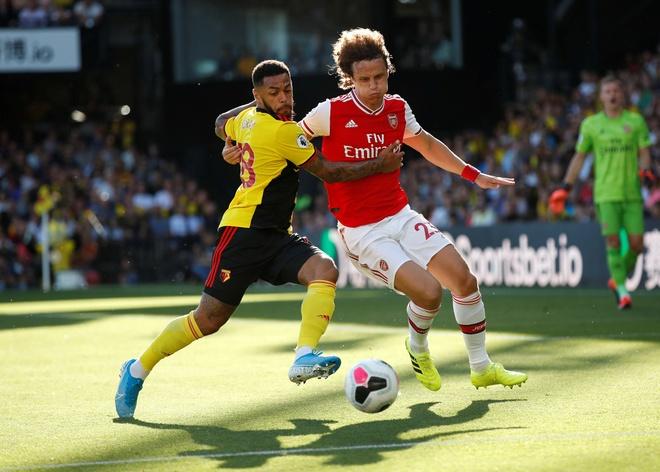 David Luiz sai lam khien Arsenal mat diem truoc Watford hinh anh 14