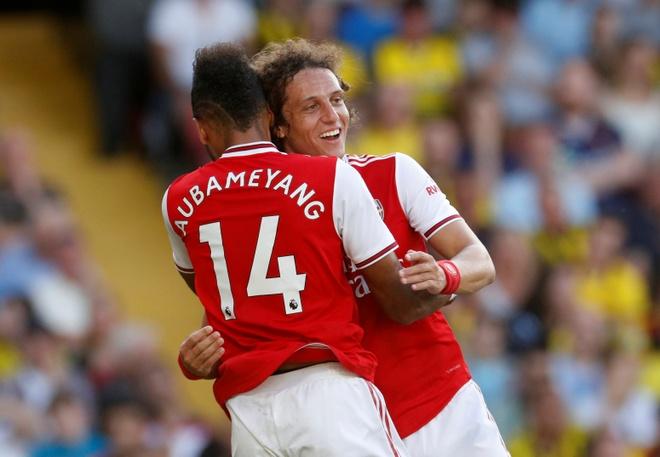 David Luiz sai lam khien Arsenal mat diem truoc Watford hinh anh 15