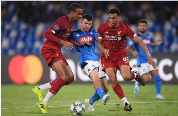 Van Dijk mac sai lam, Liverpool thua trang Napoli 0-2 hinh anh 14
