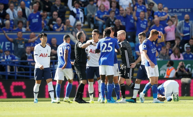 Son Heung-min vo duyen, Tottenham thua nguoc truoc Leicester hinh anh 25
