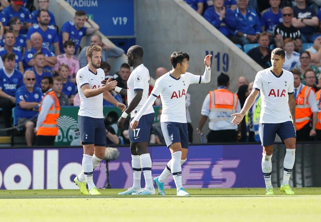 Son Heung-min vo duyen, Tottenham thua nguoc truoc Leicester hinh anh 31