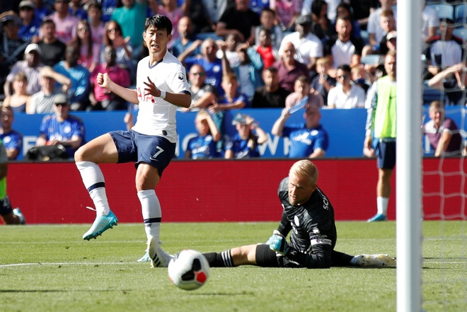 Son Heung-min vo duyen, Tottenham thua nguoc truoc Leicester hinh anh 35