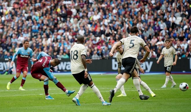 MU thua bac nhuoc tren san West Ham hinh anh 1