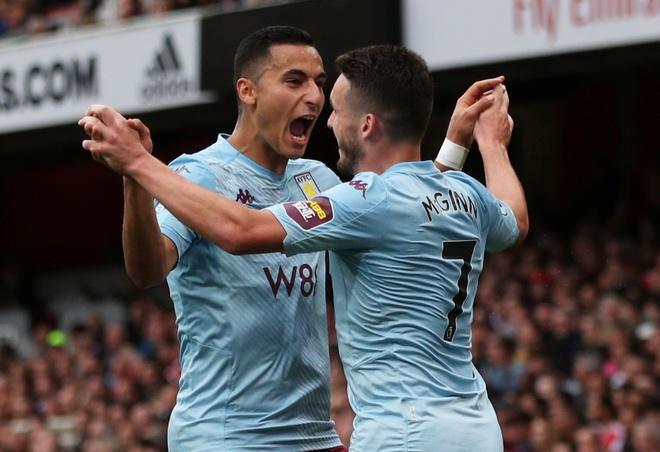 Arsenal nguoc dong ha Aston Villa voi 10 nguoi hinh anh 9