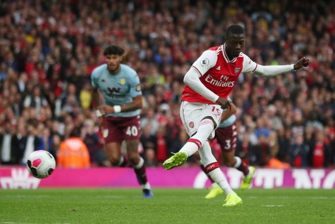 Arsenal nguoc dong ha Aston Villa voi 10 nguoi hinh anh 1