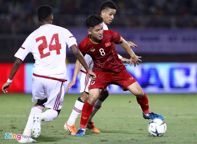 truc tiep U22 Viet Nam vs UAE anh 23