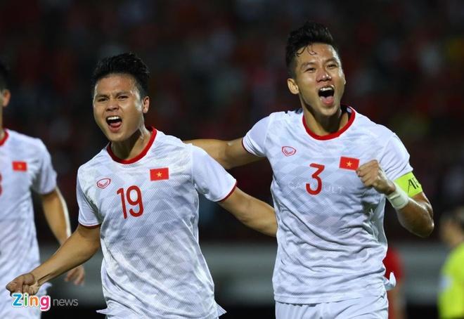 truc tiep Viet Nam vs Indonesia anh 1