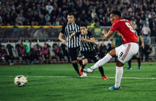 truc tiep MU vs Partizan anh 15
