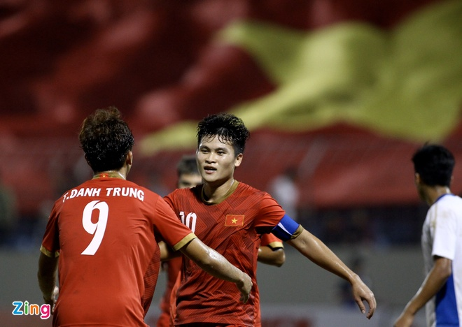 Thang doi sinh vien vo dich the gioi, U21 Viet Nam gianh cup quoc te hinh anh 21