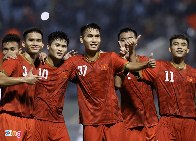 Thang doi sinh vien vo dich the gioi, U21 Viet Nam gianh cup quoc te hinh anh 22