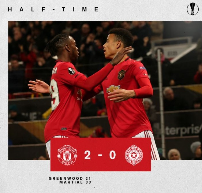 Thang Partizan 3-0, MU vao vong knock-out Europa League som 2 luot hinh anh 12