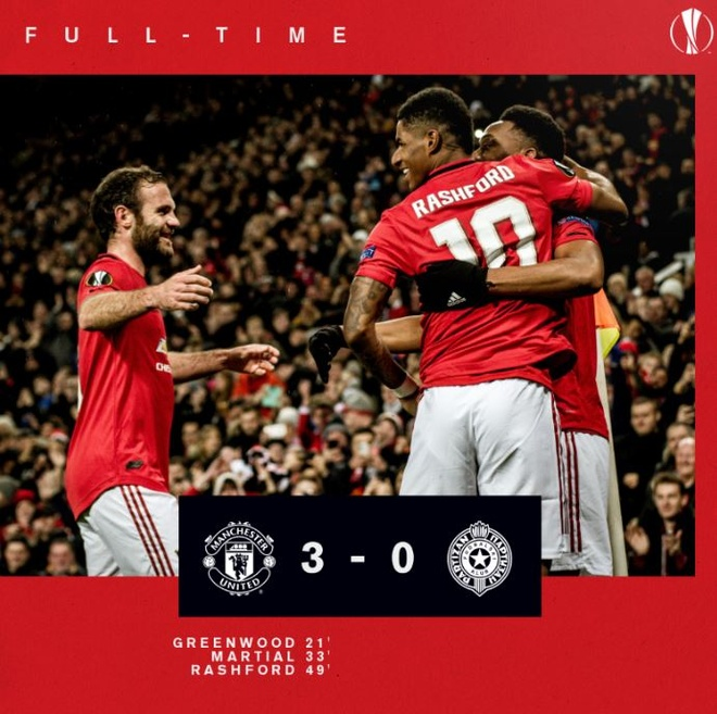 Thang Partizan 3-0, MU vao vong knock-out Europa League som 2 luot hinh anh 17