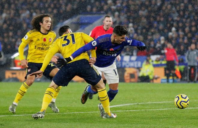 Arsenal chim trong khung hoang sau tran thua Leicester hinh anh 15