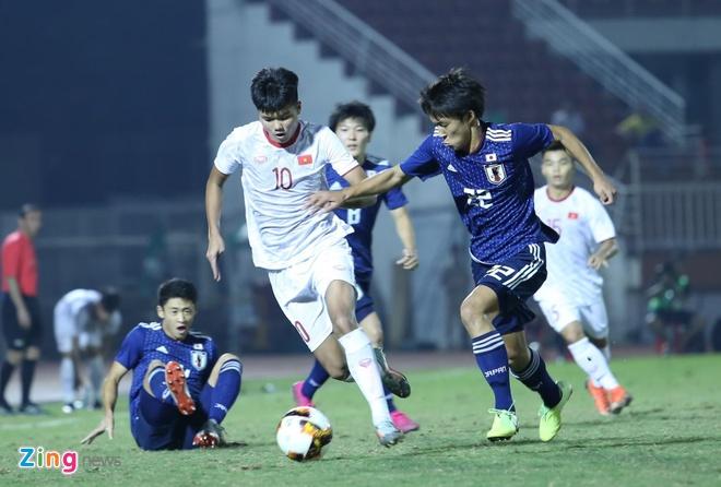 Xem lại U19 Việt Nam vs U19 Nhật Bản highlights & video