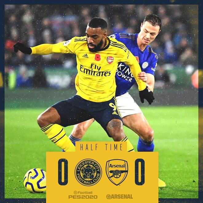 Arsenal chim trong khung hoang sau tran thua Leicester hinh anh 18
