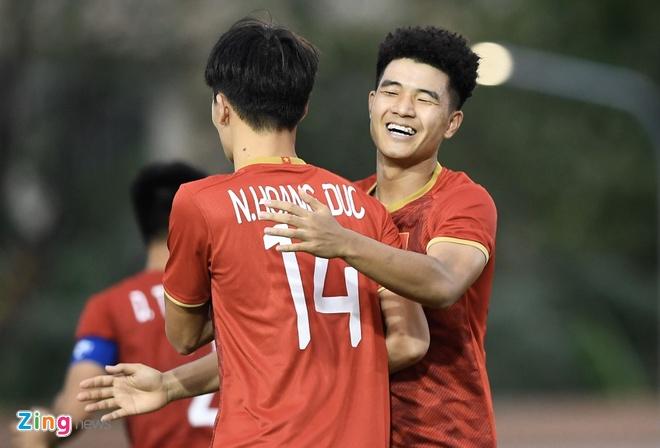 U22 Viet Nam mo man SEA Games bang tran thang 6-0 hinh anh 1