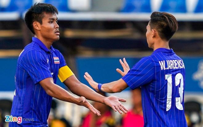 truc tiep U22 Thai Lan vs Brunei anh 14