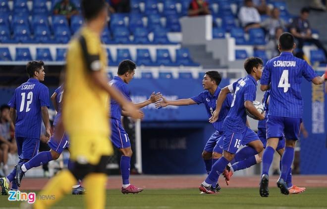 truc tiep U22 Thai Lan vs Brunei anh 16