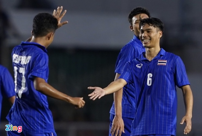 truc tiep U22 Thai Lan vs Brunei anh 17