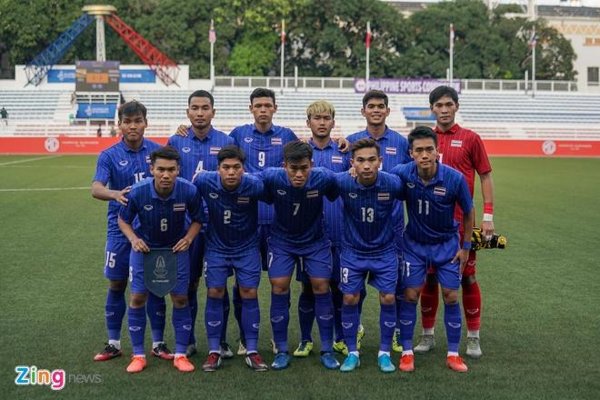 truc tiep U22 Thai Lan vs Brunei anh 11