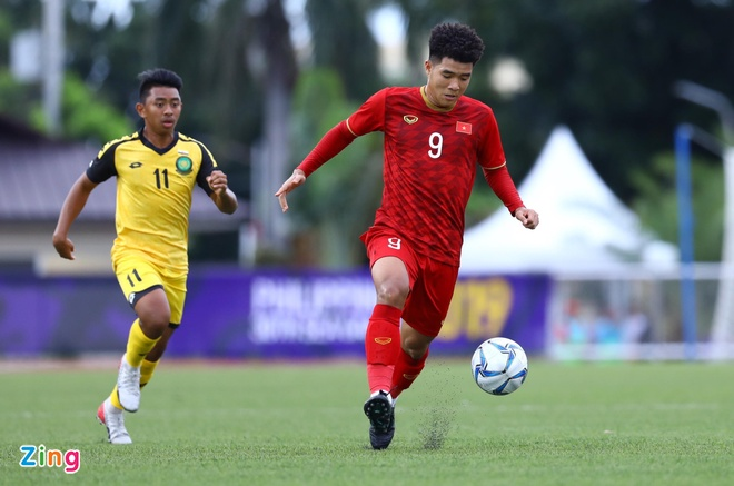 Tien Linh lap hat-trick giup U22 Viet Nam thang Lao 6-1 hinh anh 5