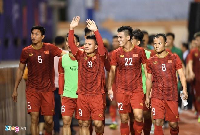 Tien Linh lap hat-trick giup U22 Viet Nam thang Lao 6-1 hinh anh 3