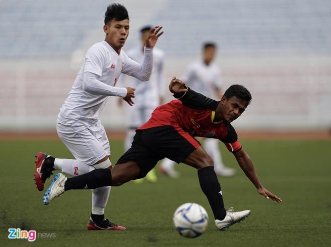 truc tiep U22 Myanmar vs Timor Leste anh 5