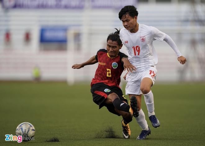 truc tiep U22 Myanmar vs Timor Leste anh 6