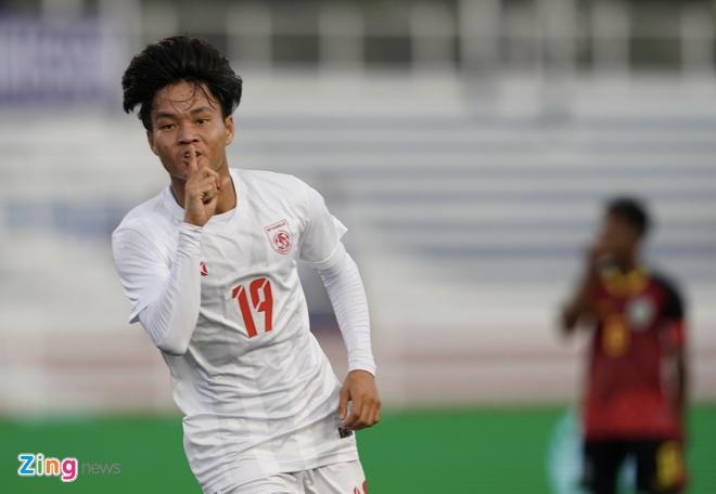 truc tiep U22 Myanmar vs Timor Leste anh 8