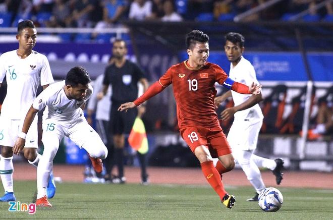 truc tiep U22 Viet Nam vs Indonesia anh 48