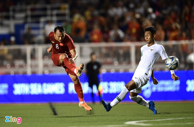 truc tiep U22 Viet Nam vs Indonesia anh 47