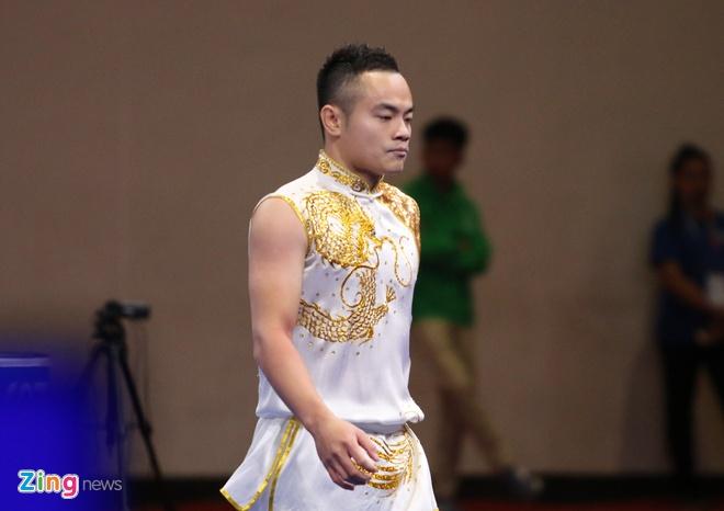 SEA Games 30: Quoc Khanh giai con khat vang cho wushu Viet Nam hinh anh 4