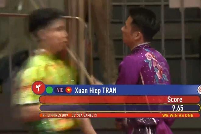 SEA Games 30: Quoc Khanh giai con khat vang cho wushu Viet Nam hinh anh 12