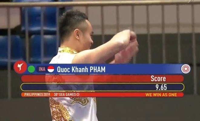 SEA Games 30: Quoc Khanh giai con khat vang cho wushu Viet Nam hinh anh 5