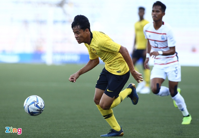 U22 Campuchia 3-1 Malaysia: Dau cham het cho 'Nhung chu ho' hinh anh 9